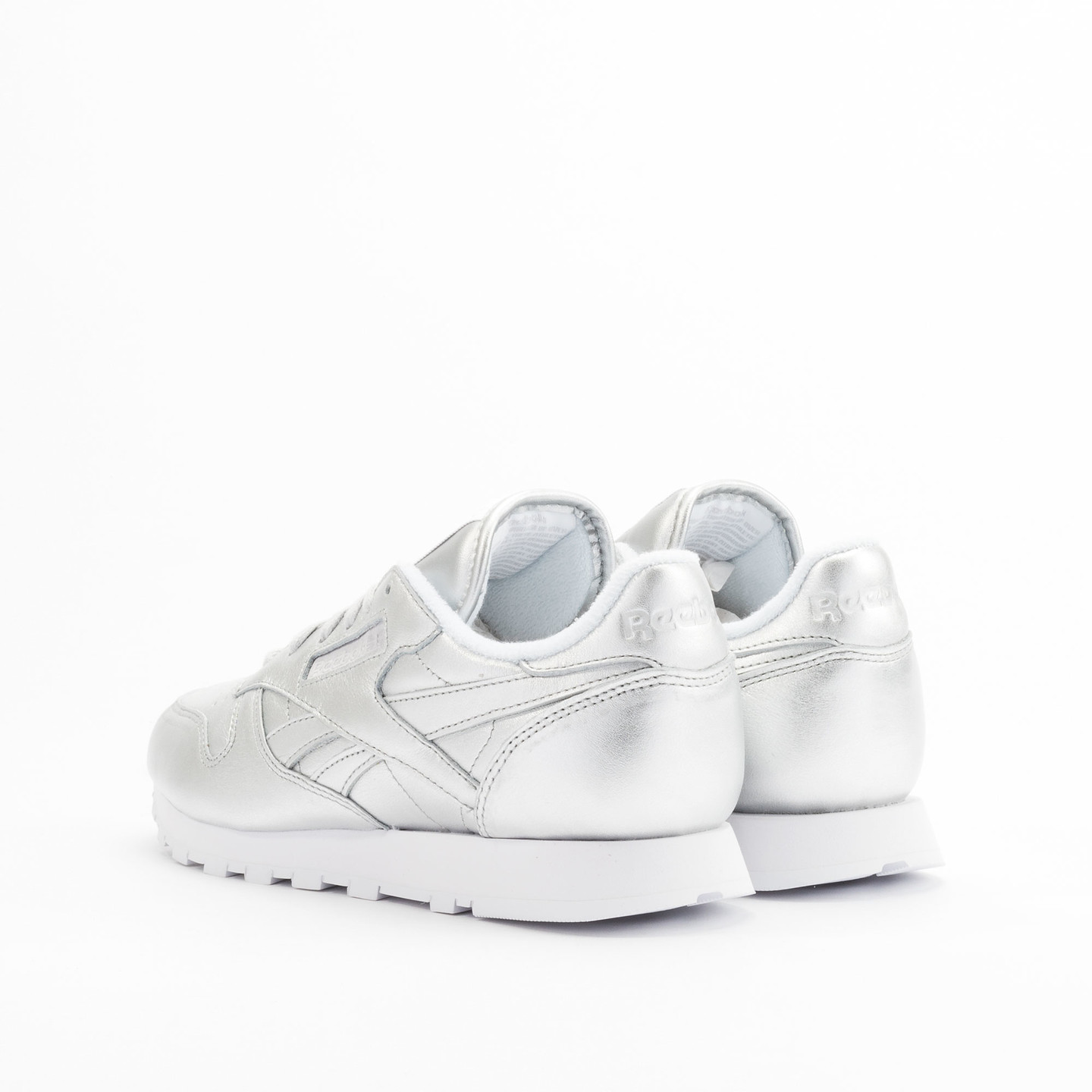 Reebok Classic Leather Spirit Presence Silver / White V62700-38
