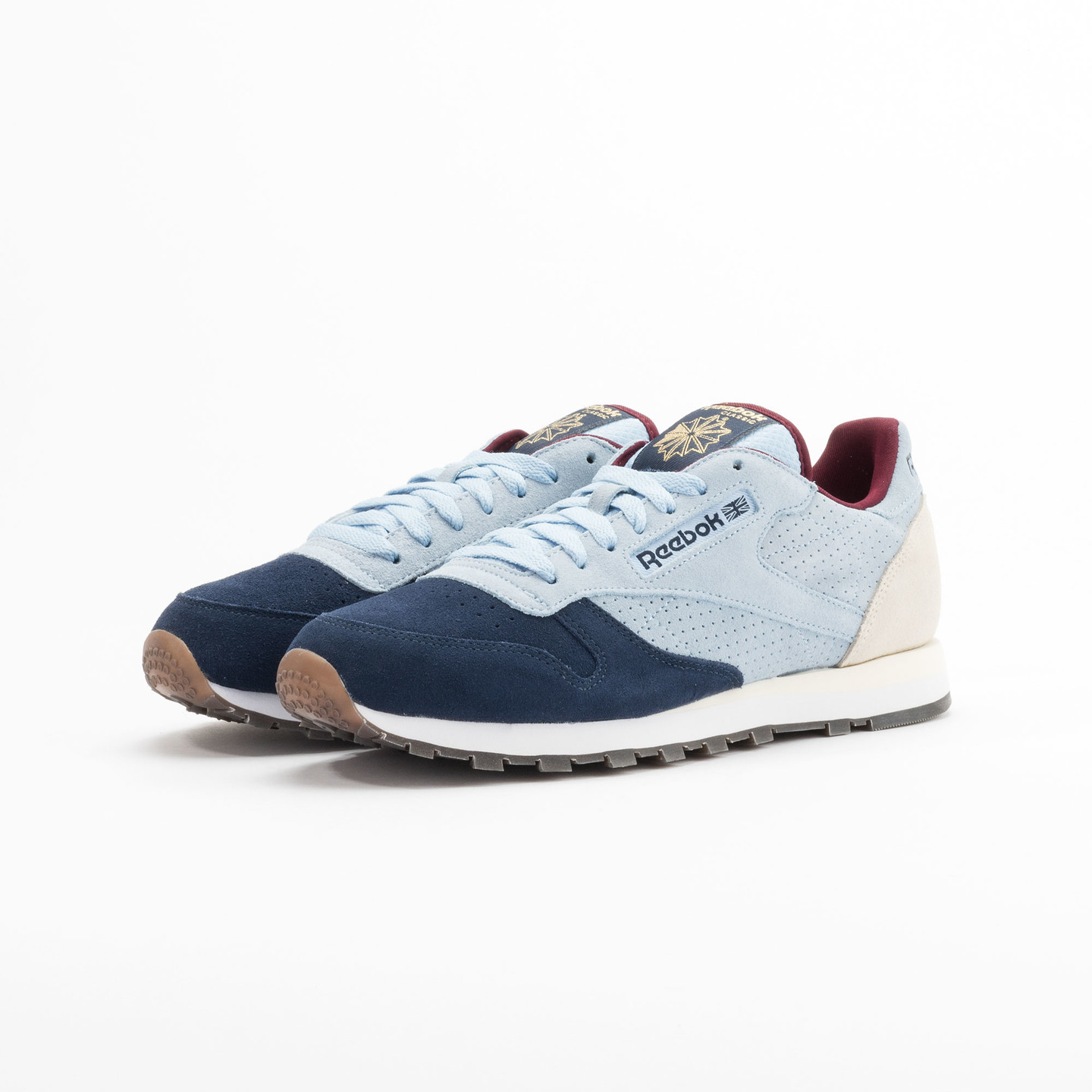 Reebok Classic Leather Int Navy / Light Blue / Sand V66829-44