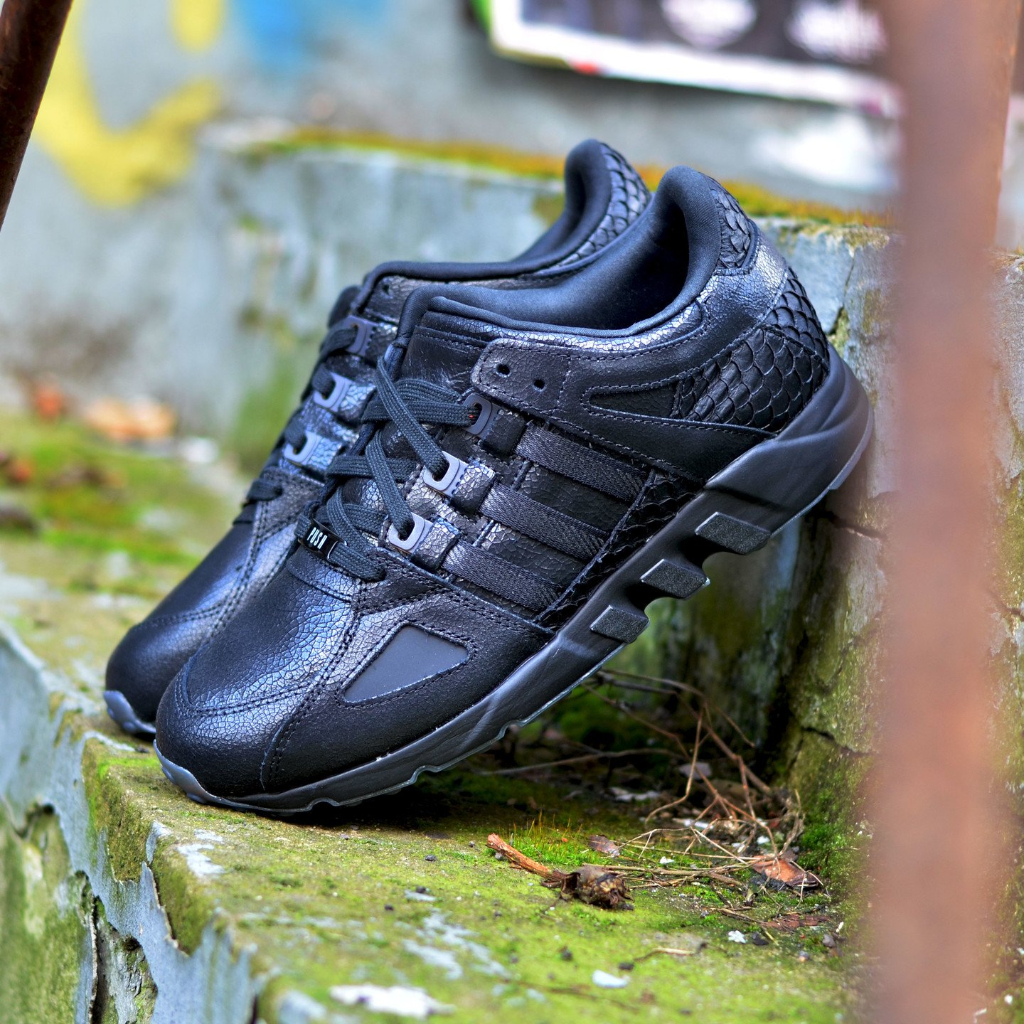 Adidas Pusha T x EQT Running Guidance ´93 Core Black AQ7433-45.33