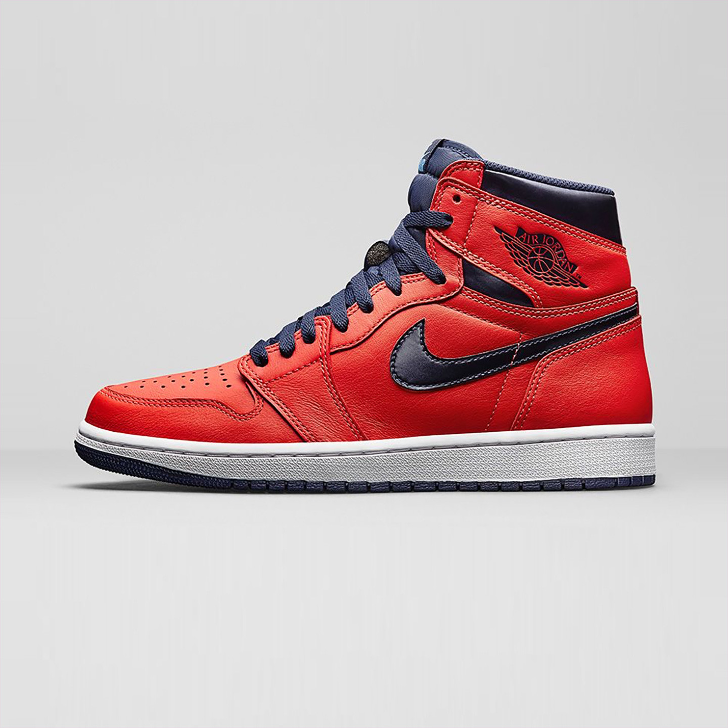 Nike Air Jordan 1 Retro High OG 'Letterman' Light Crimson / University Blue 555088-606-47