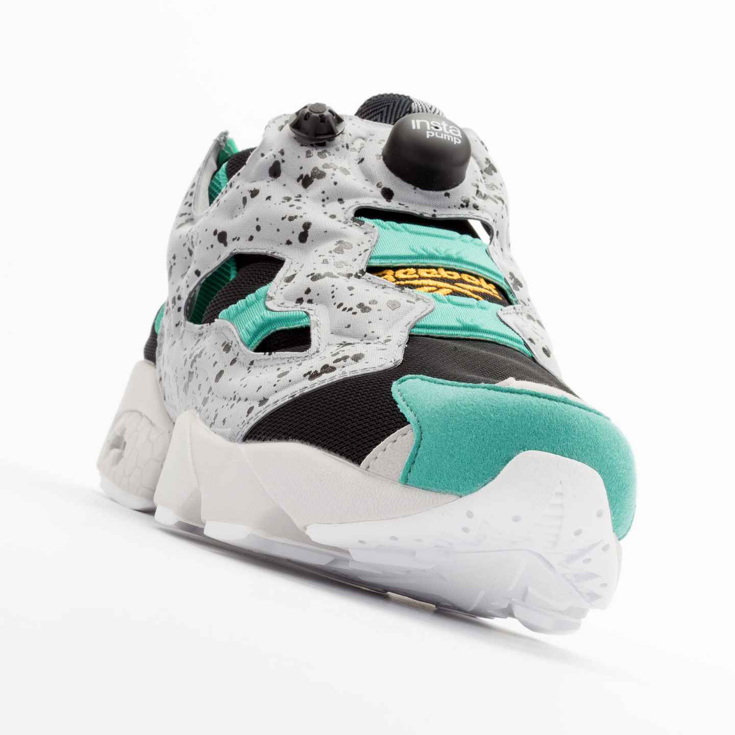 Reebok Instapump Fury SP Black / Grey / Green / Gold V66115-44