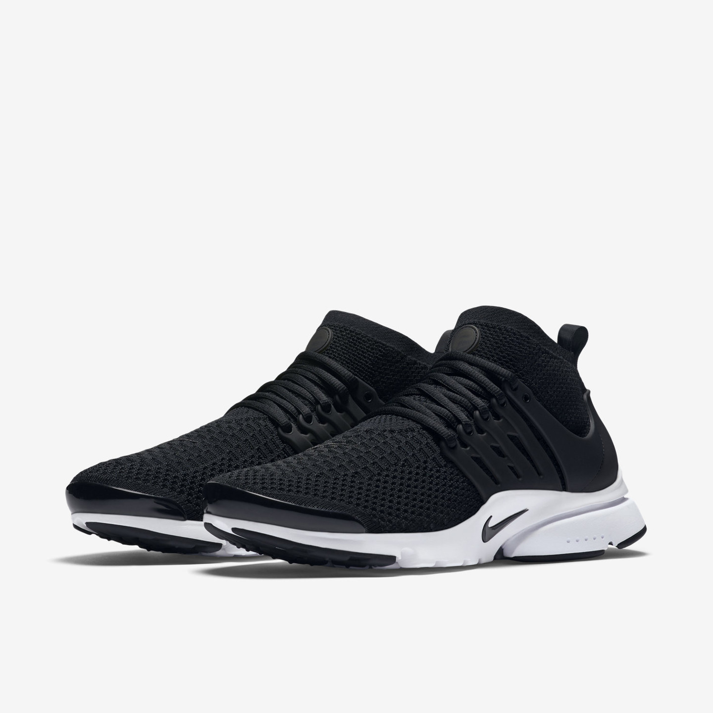 Nike Air Presto Ultra Flyknit Black / White 835570-001-46