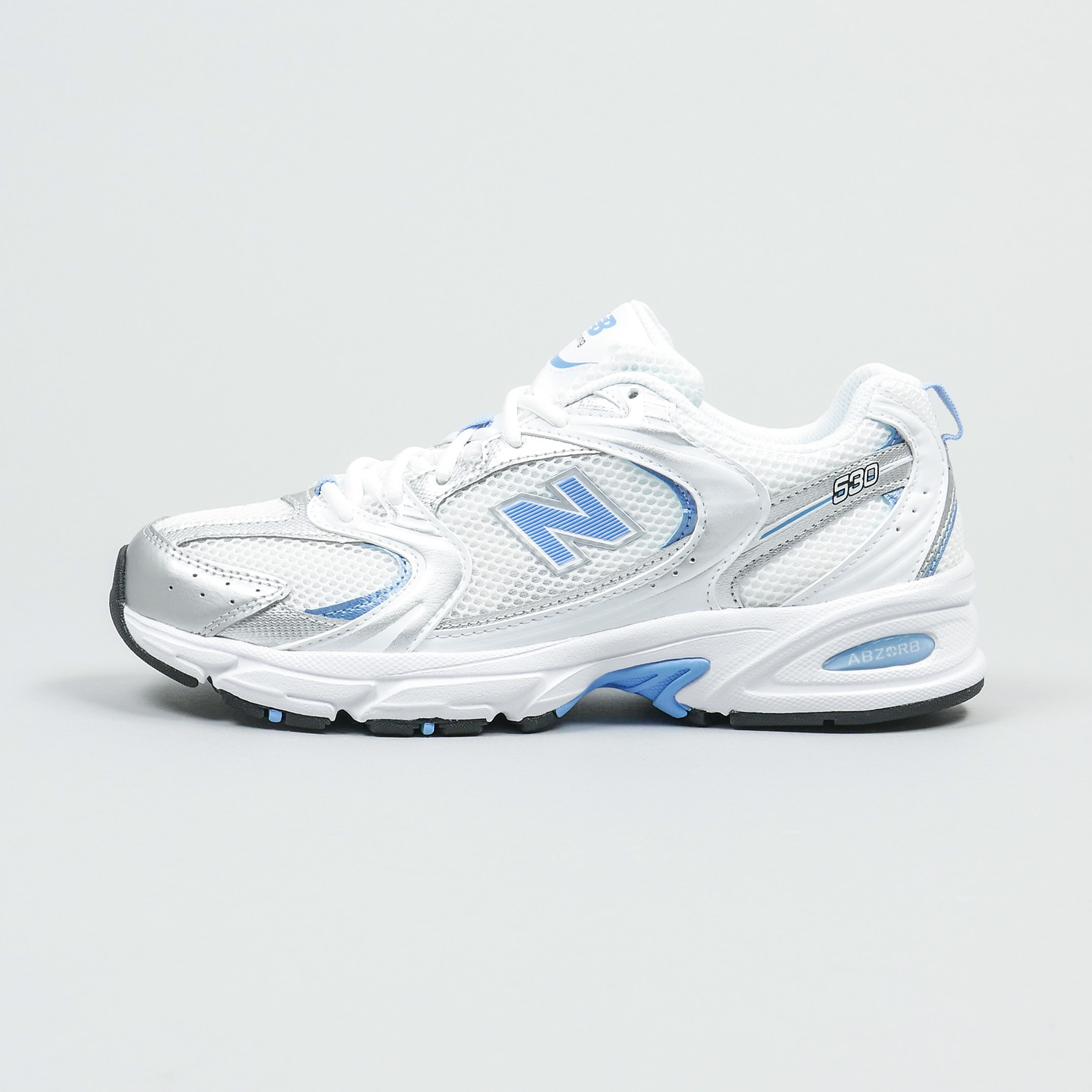 New Balance MR530 White / Baby Blue / Silver MR530MIC