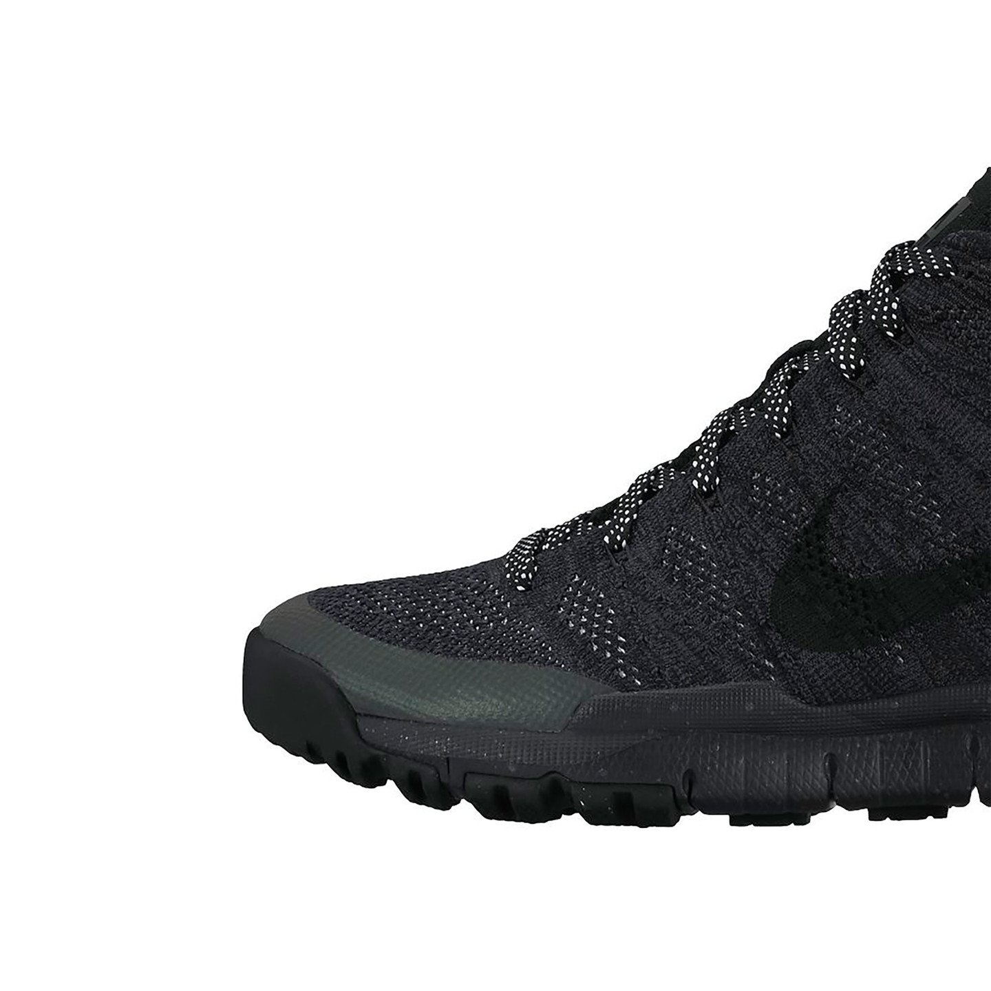 Nike Flyknit Trainer Chukka Sneakerboot Black / Anthracite 805092-001-45