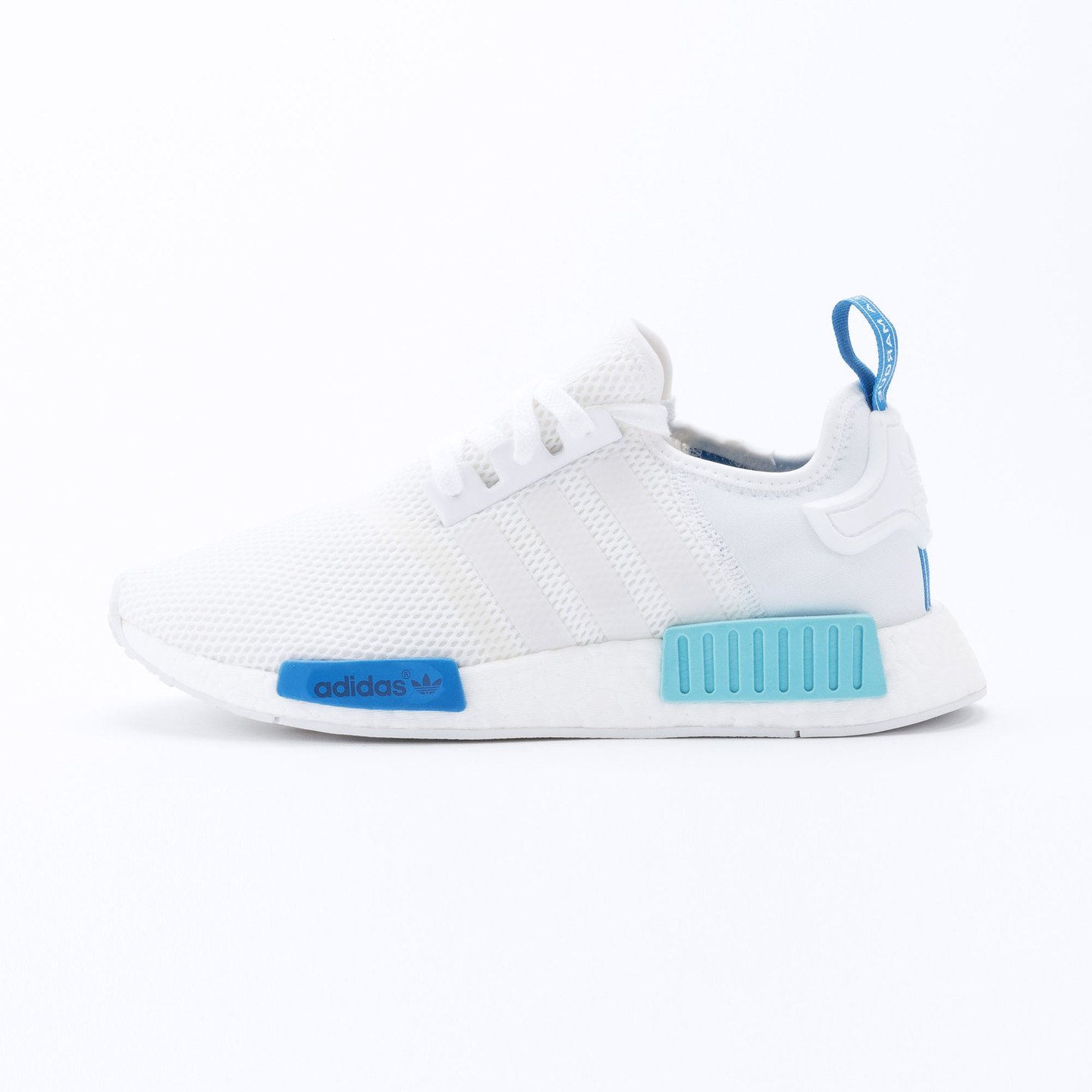 Adidas NMD R1 Runner W Ftwr White /  Blue Glow S75235-36