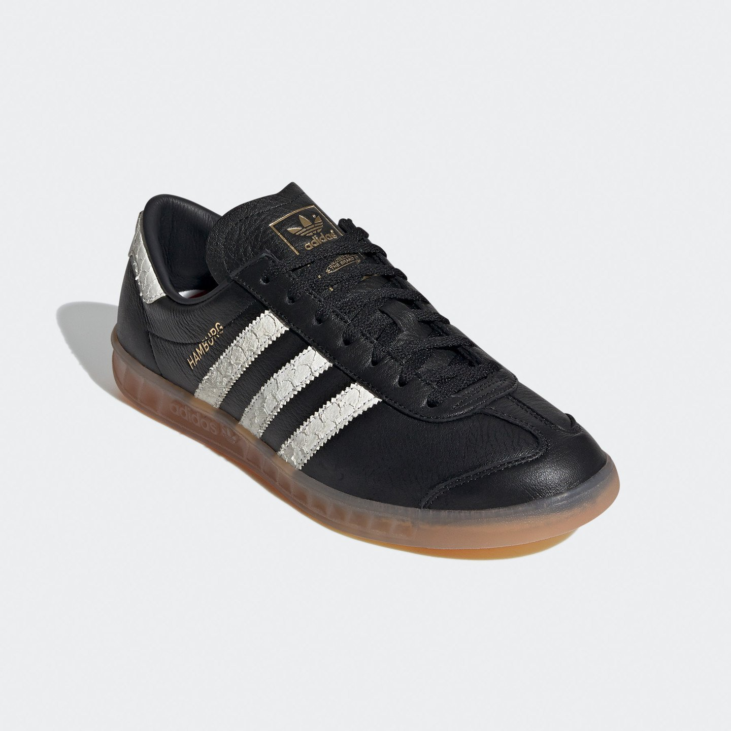 Adidas Hamburg 'Fischkopp' Core Black / Cloud White / Lush Red EF5674