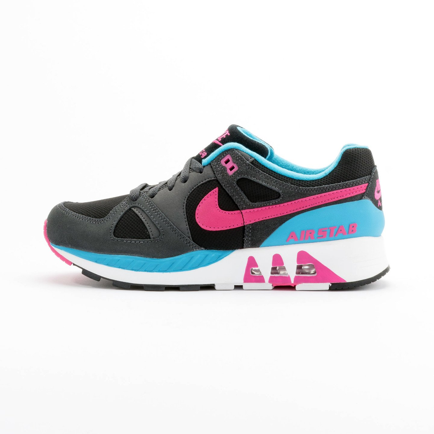 Nike Air Stab Black/Hot Pink-Anthrct-Bl Lgn 312451-004-44