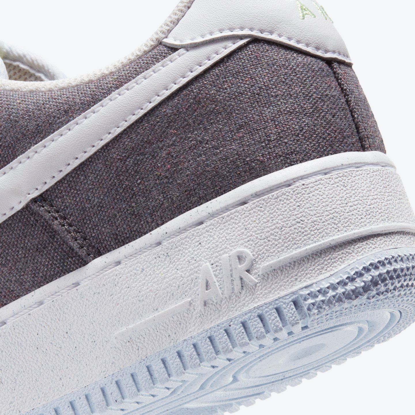 Nike Air Force 1 ´07 Recycled Iron Grey / Barely Volt / Celestine Blue / White CN0866-002