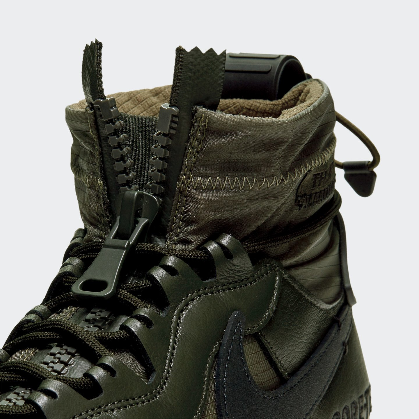 Nike Air Force 1 Winter Gore-Tex Sequoia / Black / Medium Olive / Gum CQ7211-300