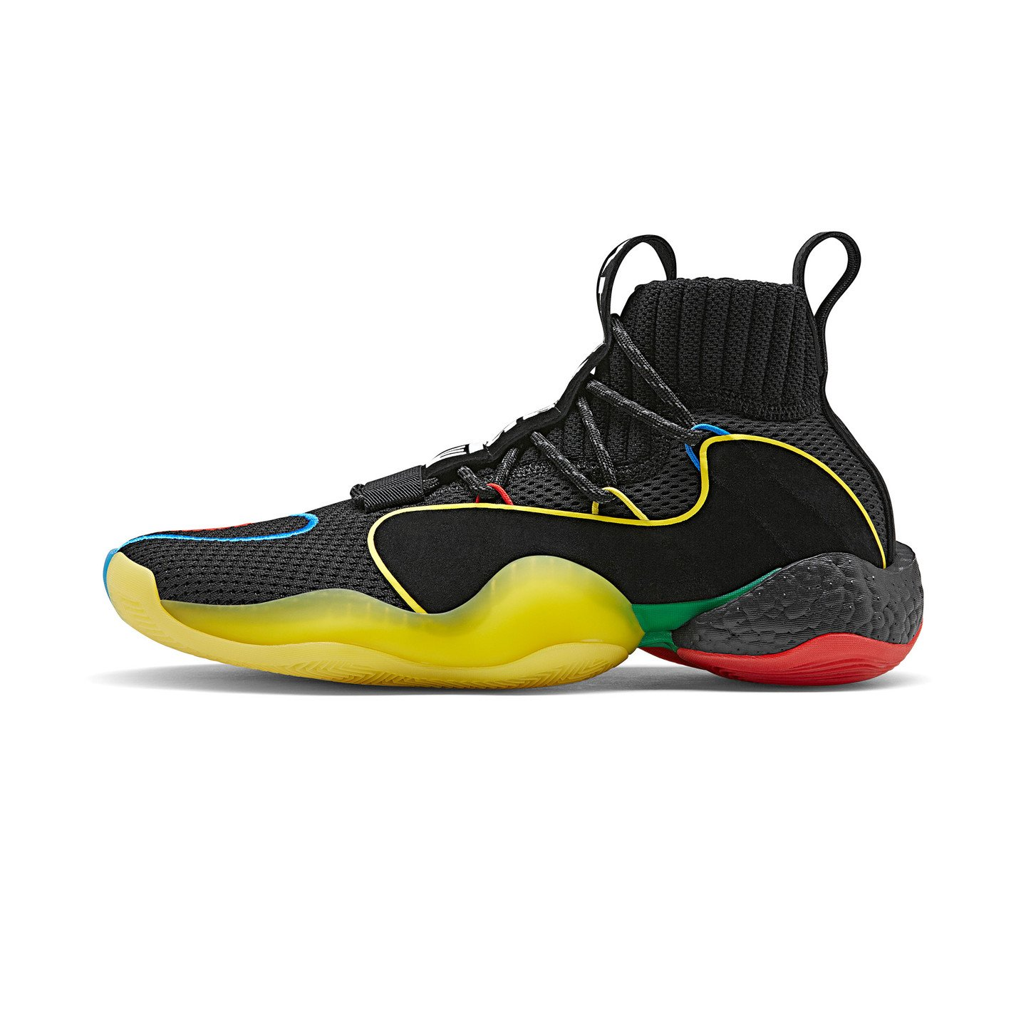 Adidas Pharrell Williams Crazy BYW LVL 'Gratitude + Empathy' Core Black / Green / Red G27805