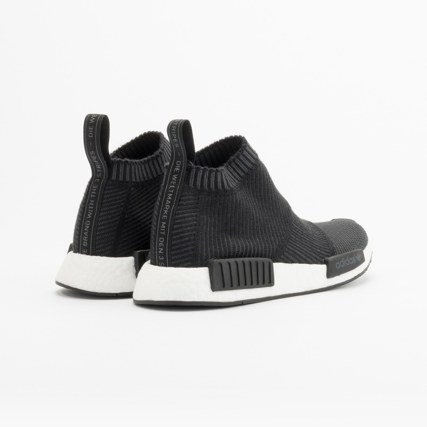 Adidas NMD CS1 City Sock Boost Primeknit Wool Core Black / Running White S32184-41.33