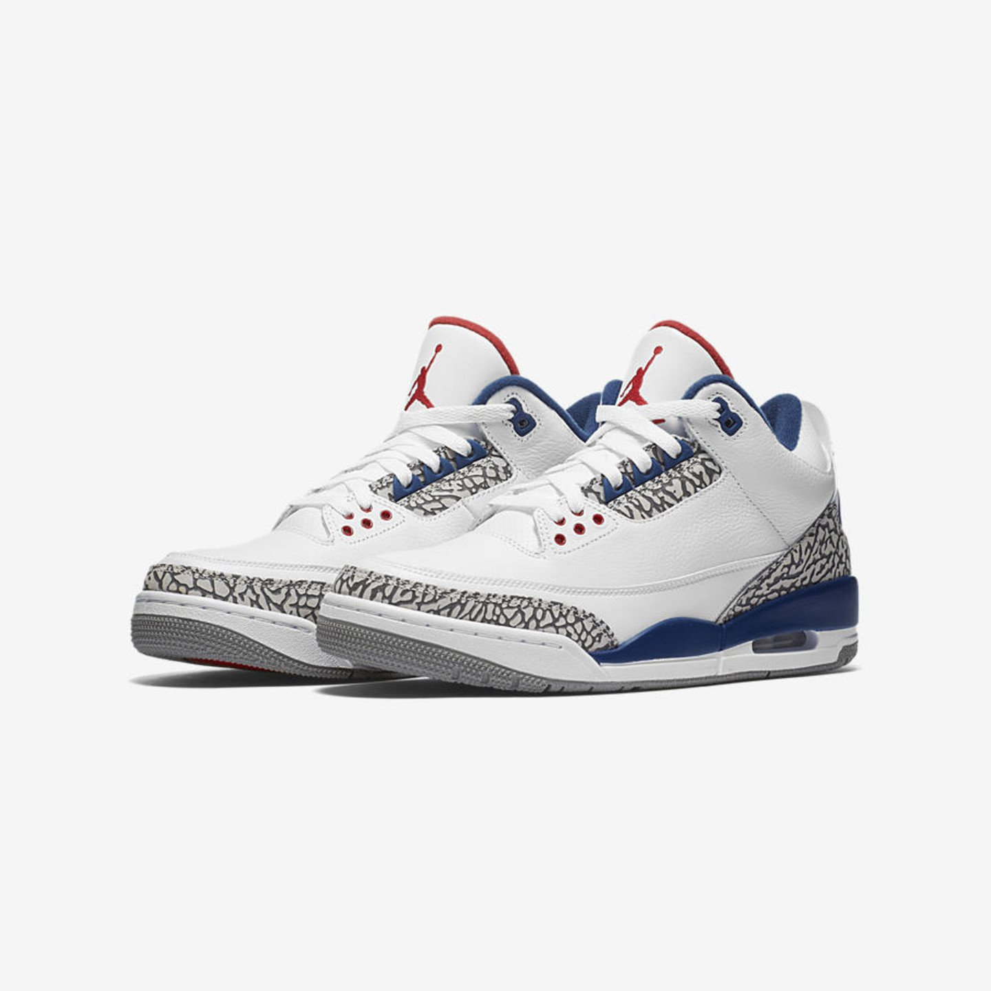 Jordan Air Jordan 3 Retro OG 'True Blue' GS True Blue / Cement Grey / Fire Red 854261-106-36.5