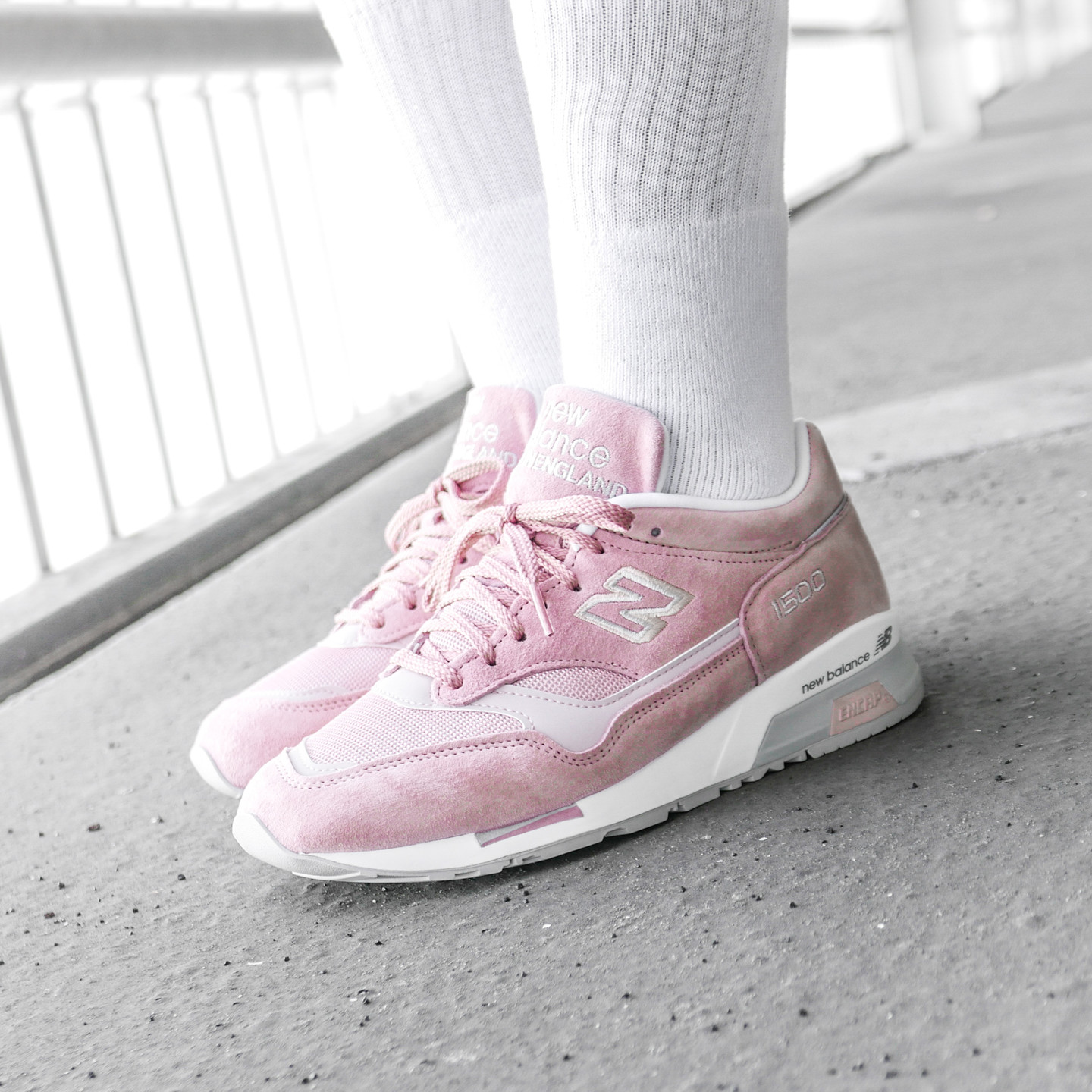 New Balance M1500 JCO - Made in England Light Pink / Grey M1500JCO