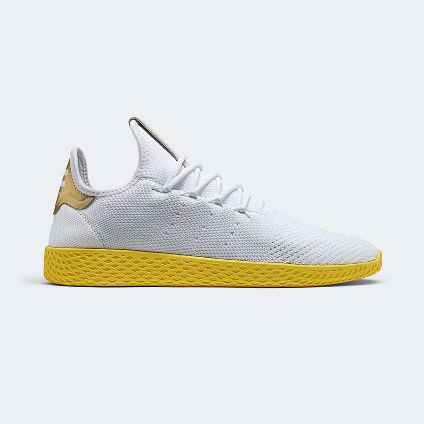 huge selection of d1854 c6da6 Adidas PW Tennis HU Ftwwht  Yellow  Gold BY2674-42