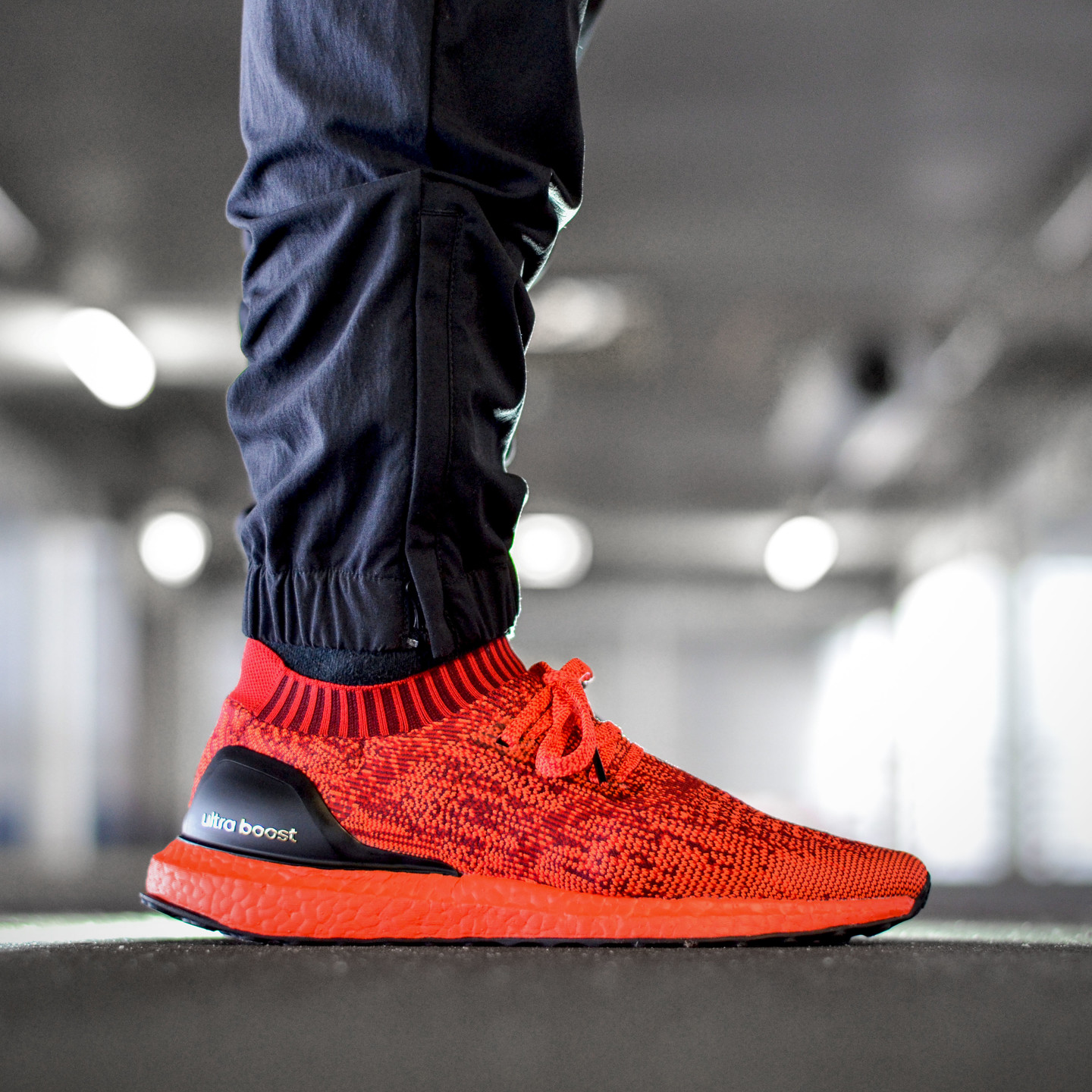 Adidas Ultra Boost Uncaged Ltd Scarlet / Solar Red / Core Black BB4678-42