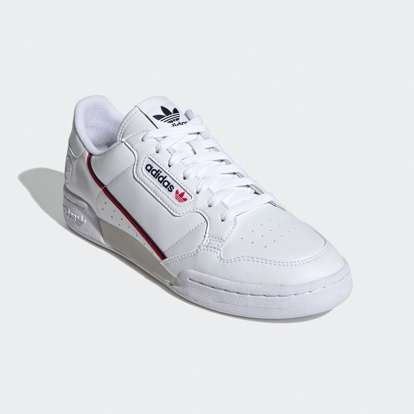 Adidas Continental 80 Vegan OG Cloud White / Collegiate Navy / Scarlet FW2336