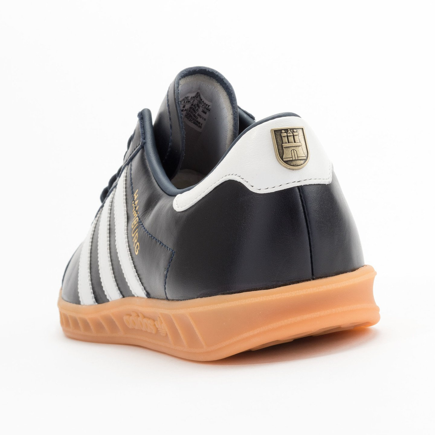 Adidas Hamburg - Made in Germany Navy / White / Gold / Gum S31602-43.33