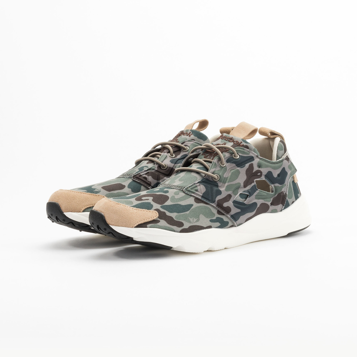 Reebok Furylite Camo Cement / Silvery Green / Sage V67089-44