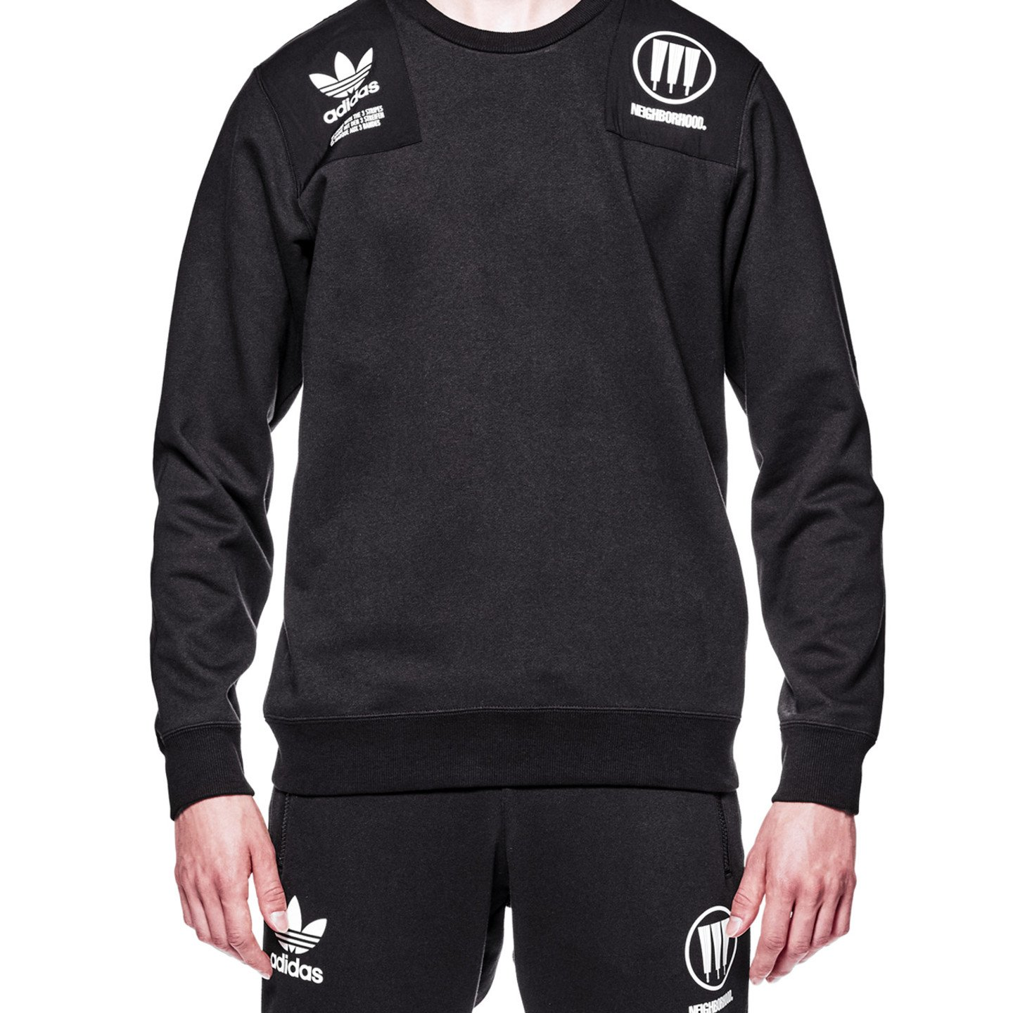Adidas Neighborhood Commander Sweater Black / White CD7734