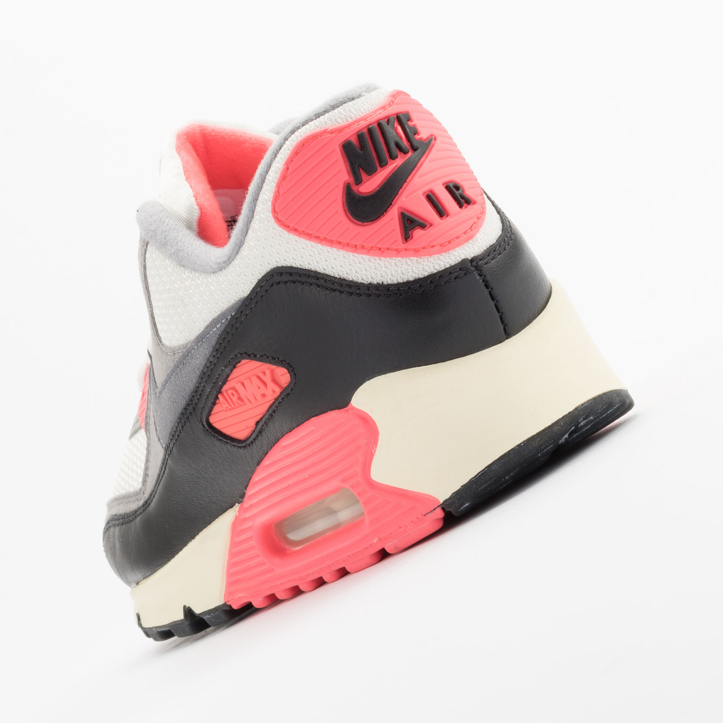 Nike Air Max 90 OG Vintage Infrared Sail/Cool Grey-Mdm Grey-Infrrd 543361-161-42.5