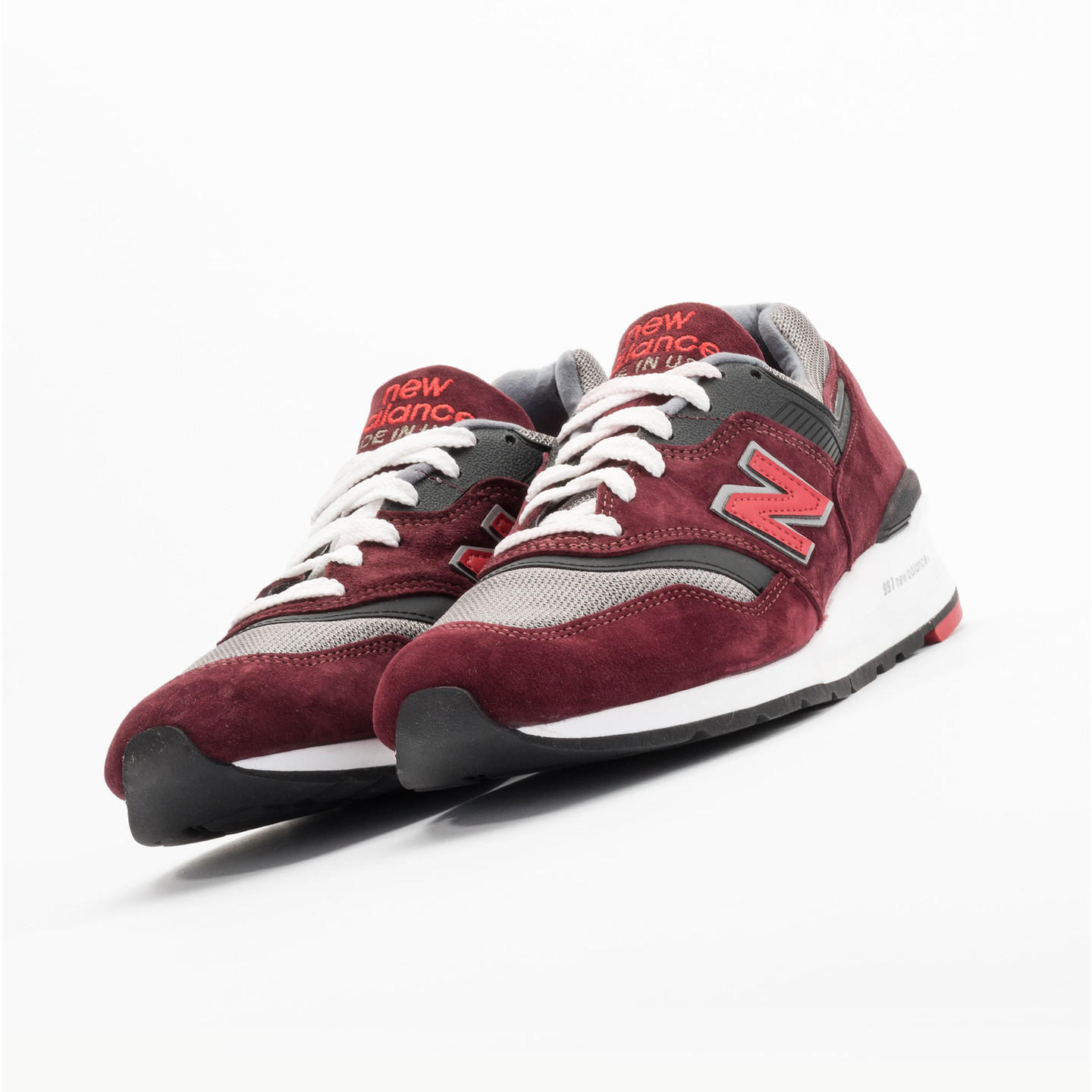 New Balance M997 CRG - Made in USA Brick Red / Black / Grey M997CRG-42.5