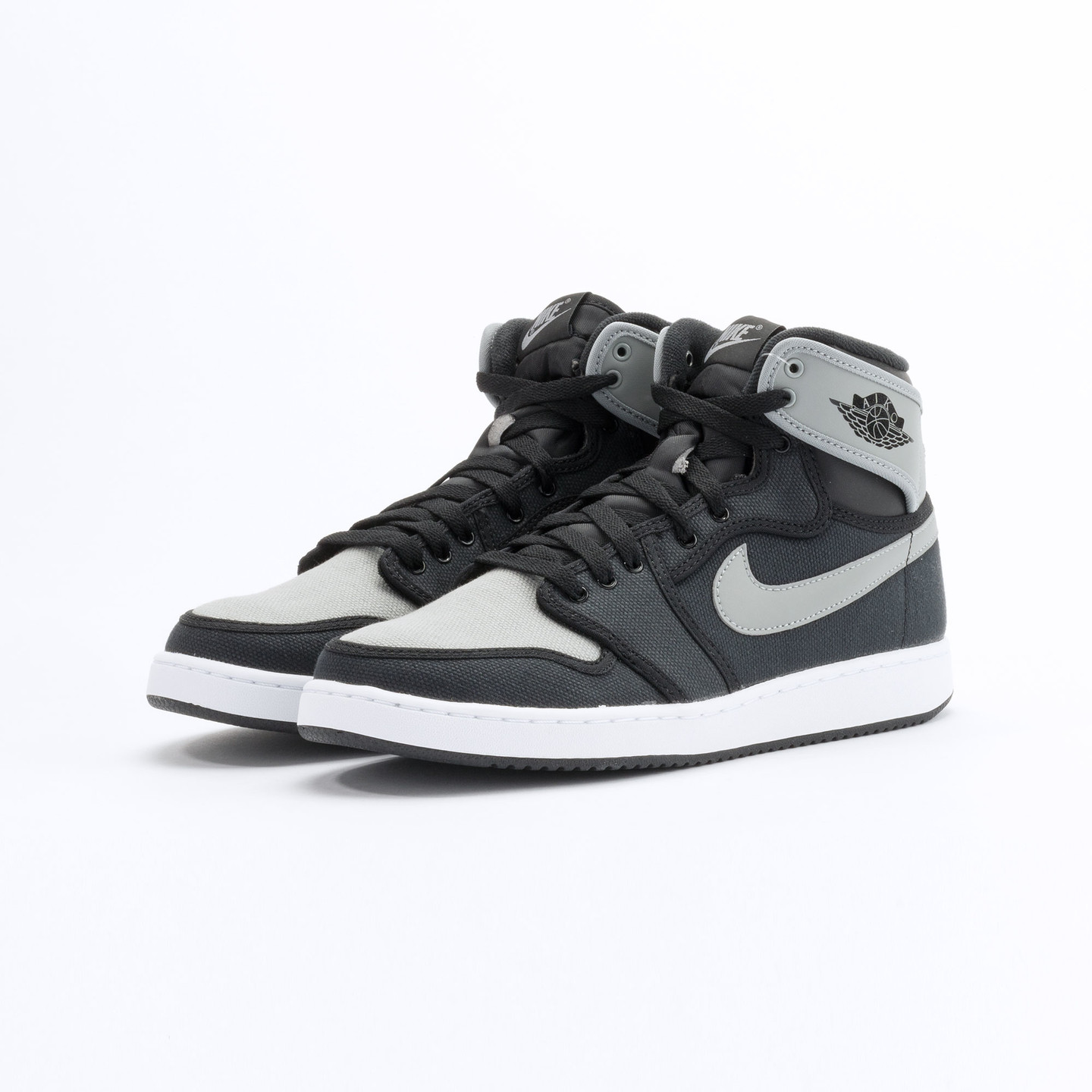 Nike Air Jordan 1 KO High OG Black / Shadow Grey / White 638471-003-46