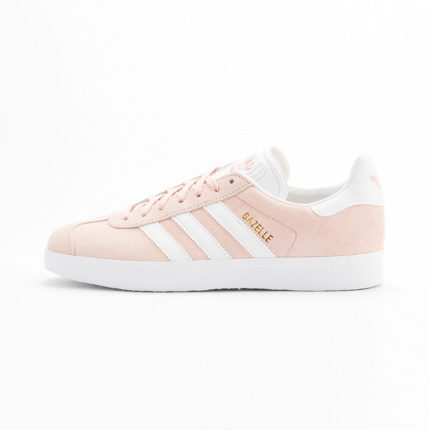 Adidas Gazelle  Vapor Pink / White / Gold Metallic BB5472-37.33