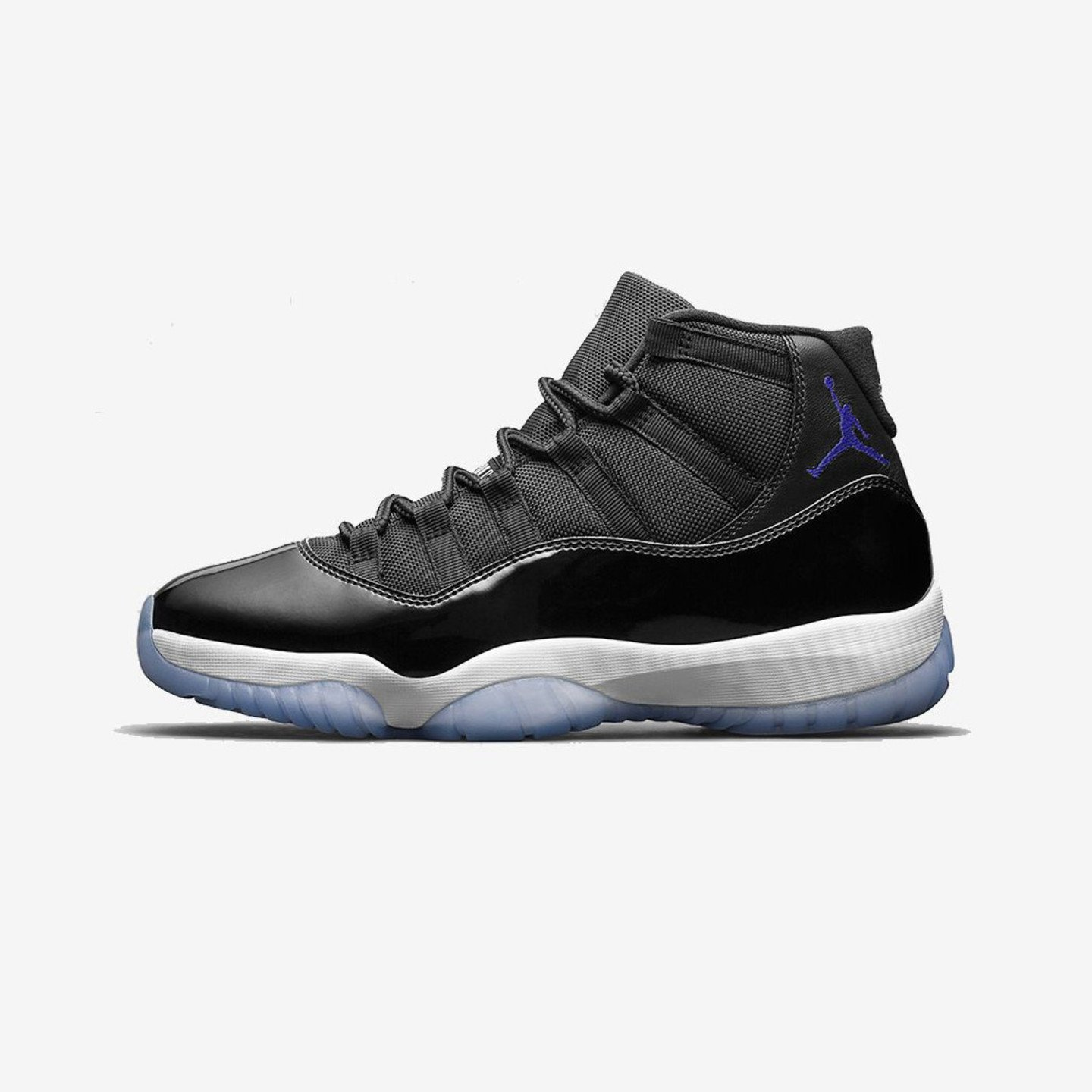 Jordan Air Jordan 11 Retro GS  'Space Jam' Black / Concord / White 378038-003-36.5