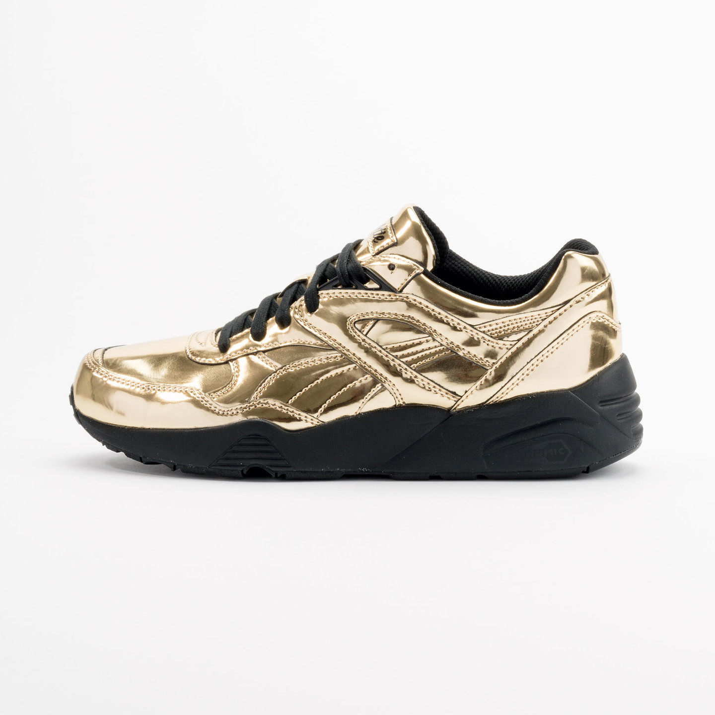 Puma R698 x Vashtie Gold Metallic Gold / Black 358838 01-45