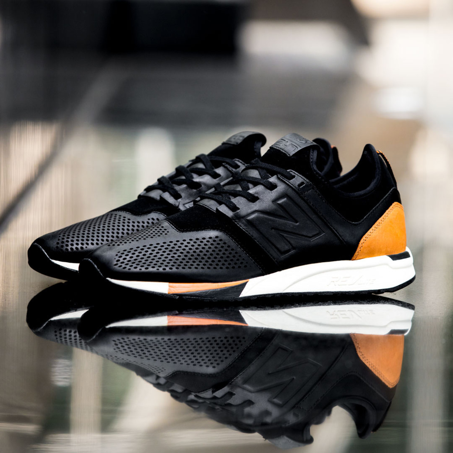 New Balance MRL 247 'Luxe Pack' Black / Brown / Cream MRL247BL-43