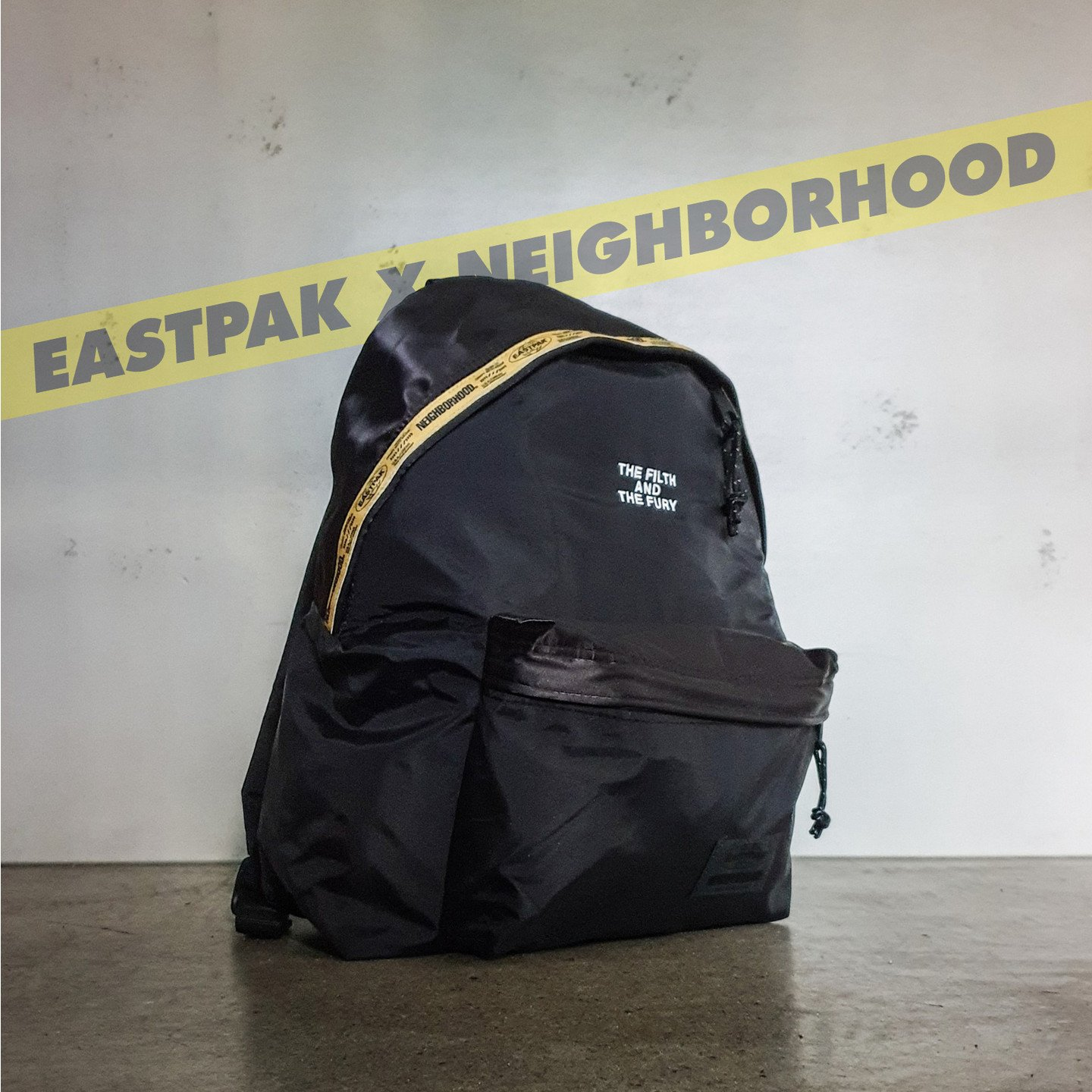 Eastpak NBHD Padded Backpack Flight Jacket Black EK82EA66
