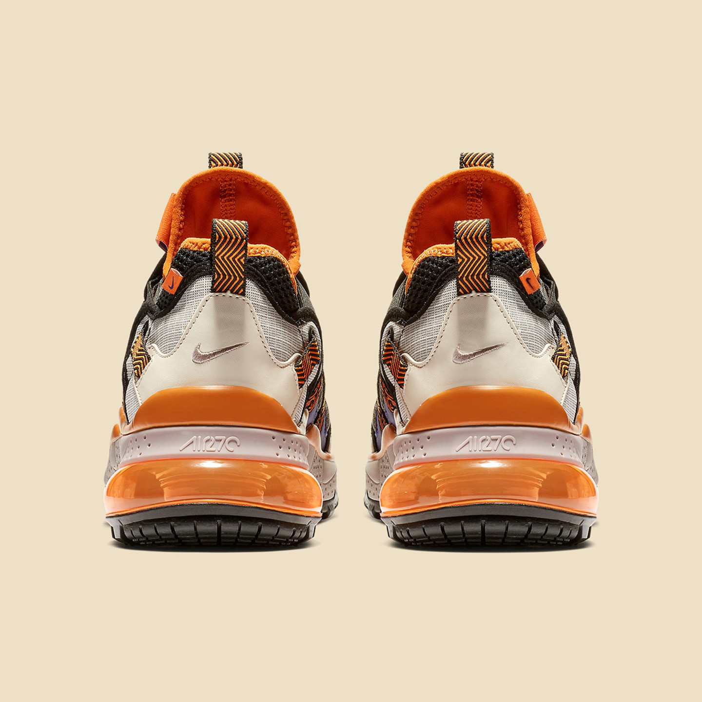 Nike Air Max 270 Bowfin Pumice / Light Orewood Brown / Burnt Cinder / Orange AJ7200-201