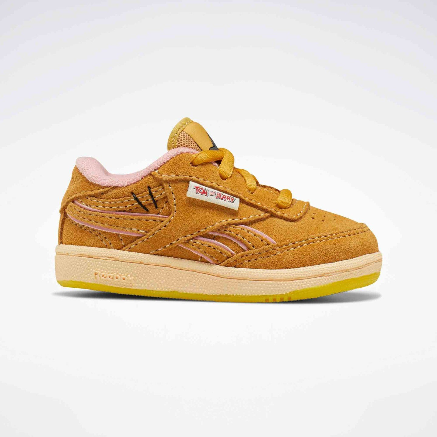 Reebok Club C Revenge Inf 'Tom & Jerry' Bold Brass / Quiet Pink FW4654
