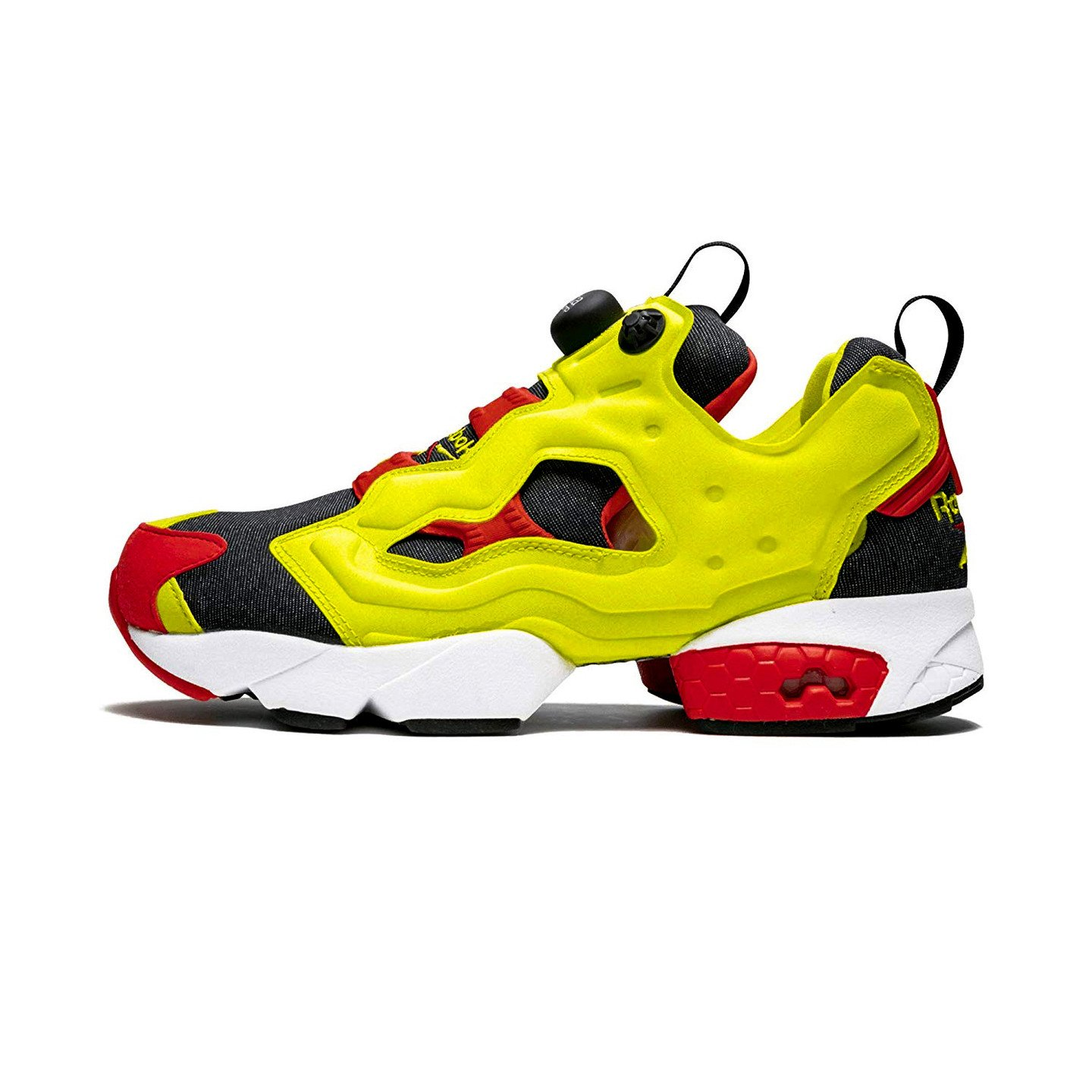 Reebok Instapump Fury OG 'Citron' Citron Yellow / Comet Red / Black V47514