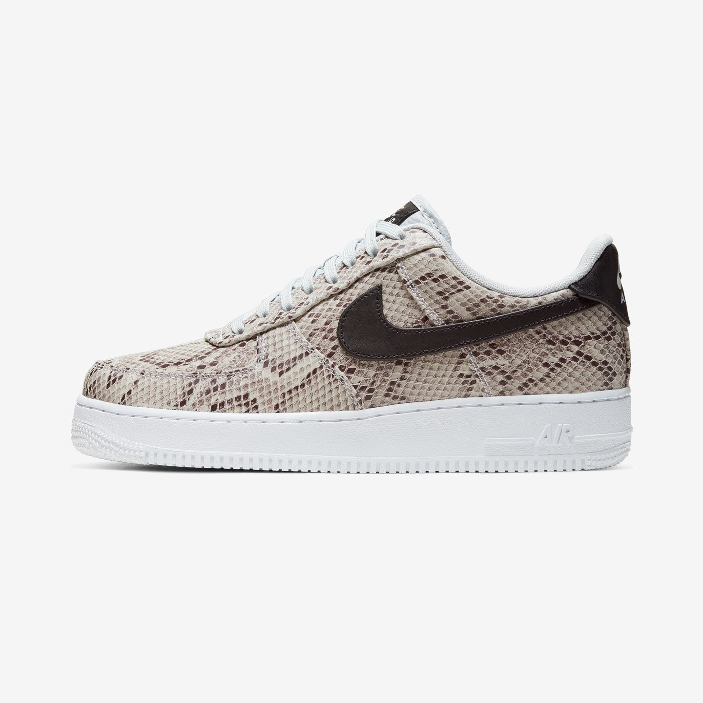Nike Air Force 1 '07 Premium 'Snake' White / Black / Pure Platinum BQ4424-100