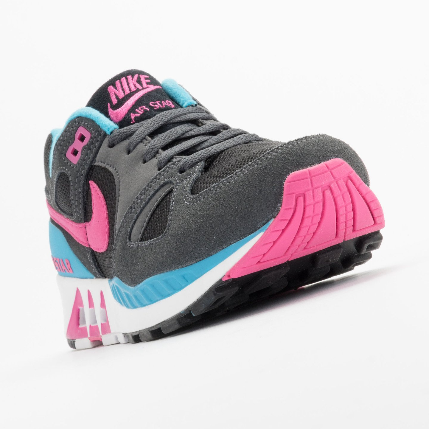 Nike Air Stab Black/Hot Pink-Anthrct-Bl Lgn 312451-004-45.5