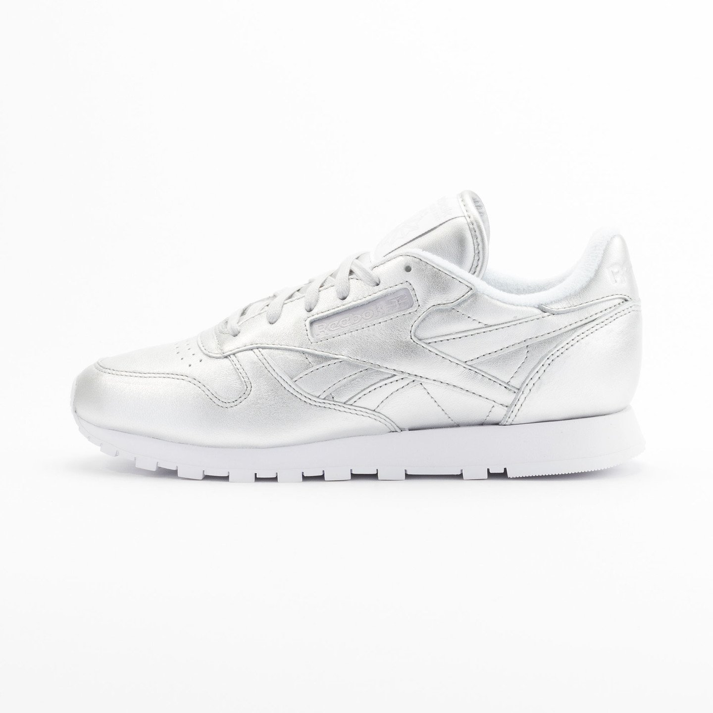 Reebok Classic Leather Spirit Presence Silver / White V62700-36