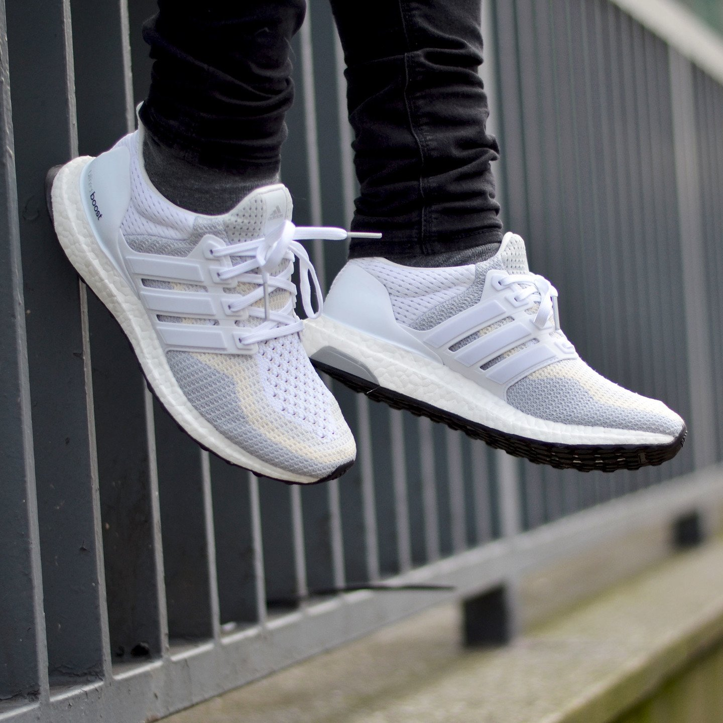 Adidas Ultra Boost W Running White / Clear Grey AF5142-42.66