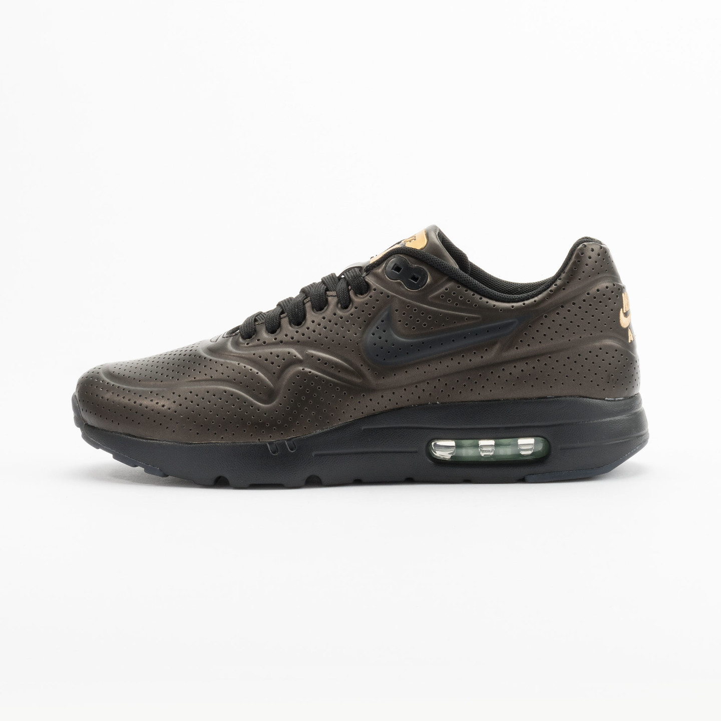 Nike Air Max 1 Ultra Moire Metallic Gold / Black 705297-700-44