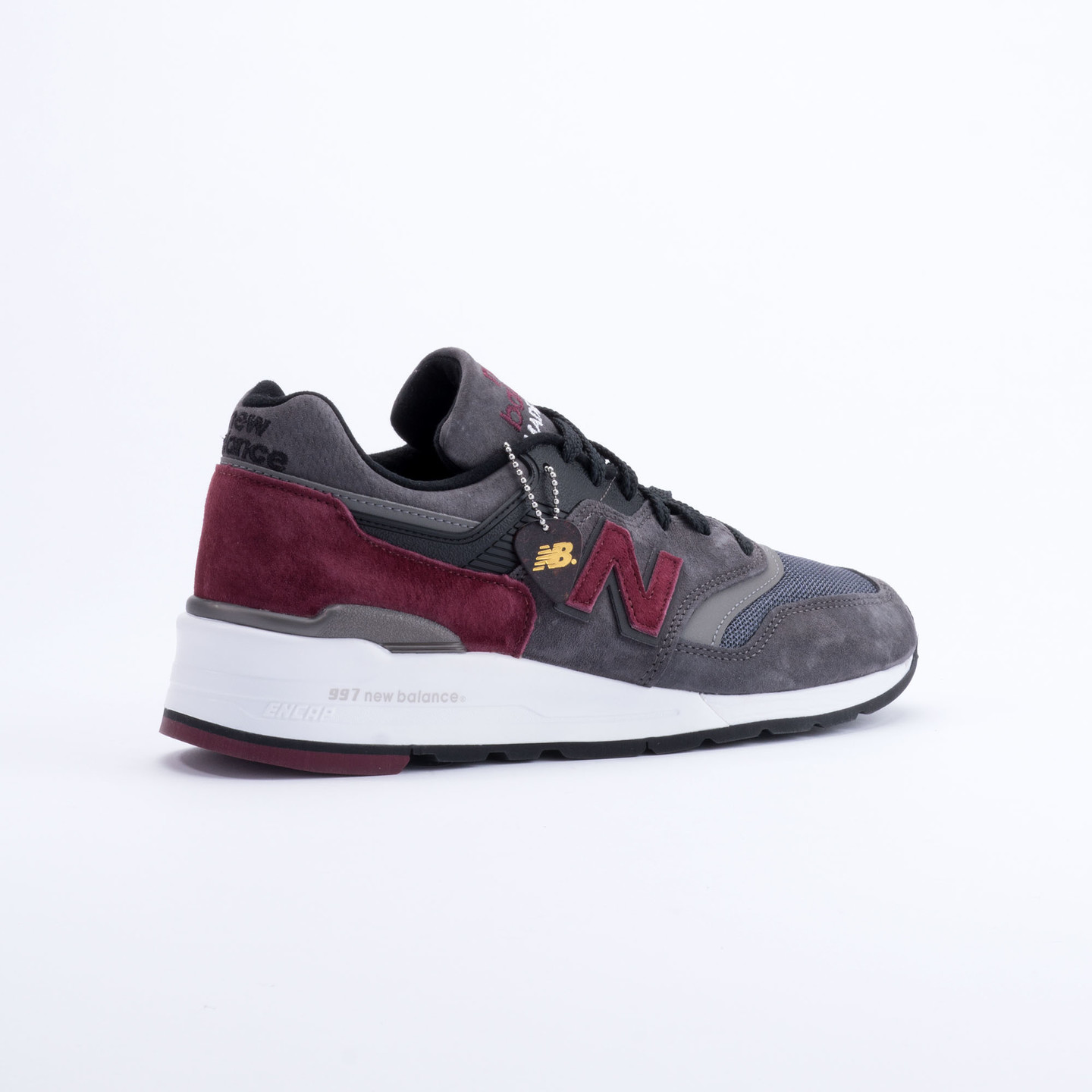 New Balance M997 Made in USA Charcoal/Burgundy M997CCF-42.5
