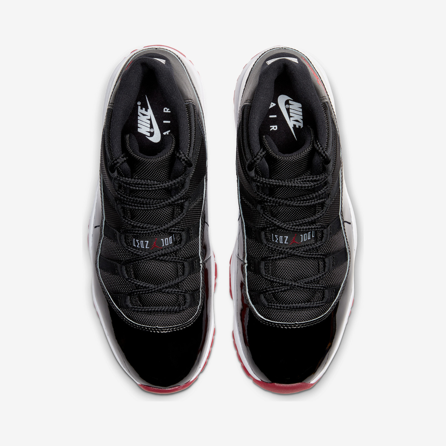 Jordan Air Jordan 11 Retro 'Bred' Black / True Red / White 378037-061
