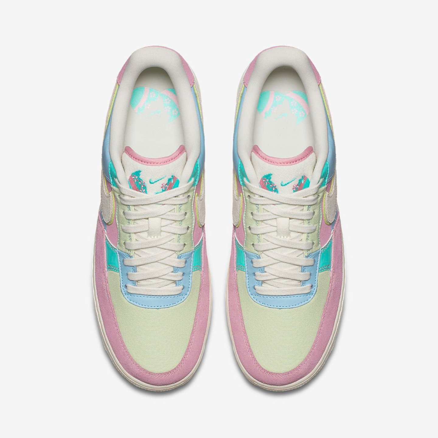 Nike Air Force 1 '07 QS 'Easter Pack' Ice Blue / Sail / Hyper Turquoise / Barely Volt AH8462-400