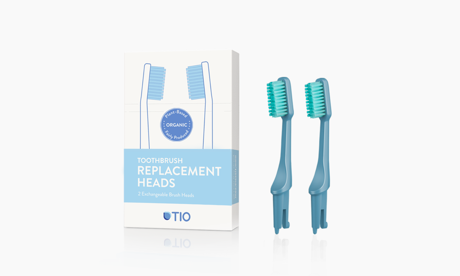 TIO Replaceable heads | TIO Replaceable heads (double pack) | Artikelnummer: 02-05E