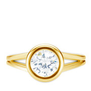 Diamantring Stil 0.30 Karat in Premium