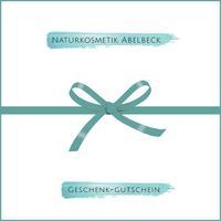 8e5a11f4b6 Naturkosmetik Abelbeck Geschenkgutschein - NATURKOSMETIK ABELBECK
