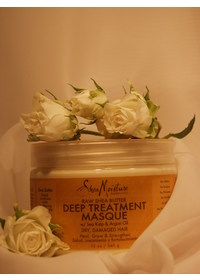 SheaMoisture Raw Shea Butter Deep Treatment Masque Tiefen-Reparatur