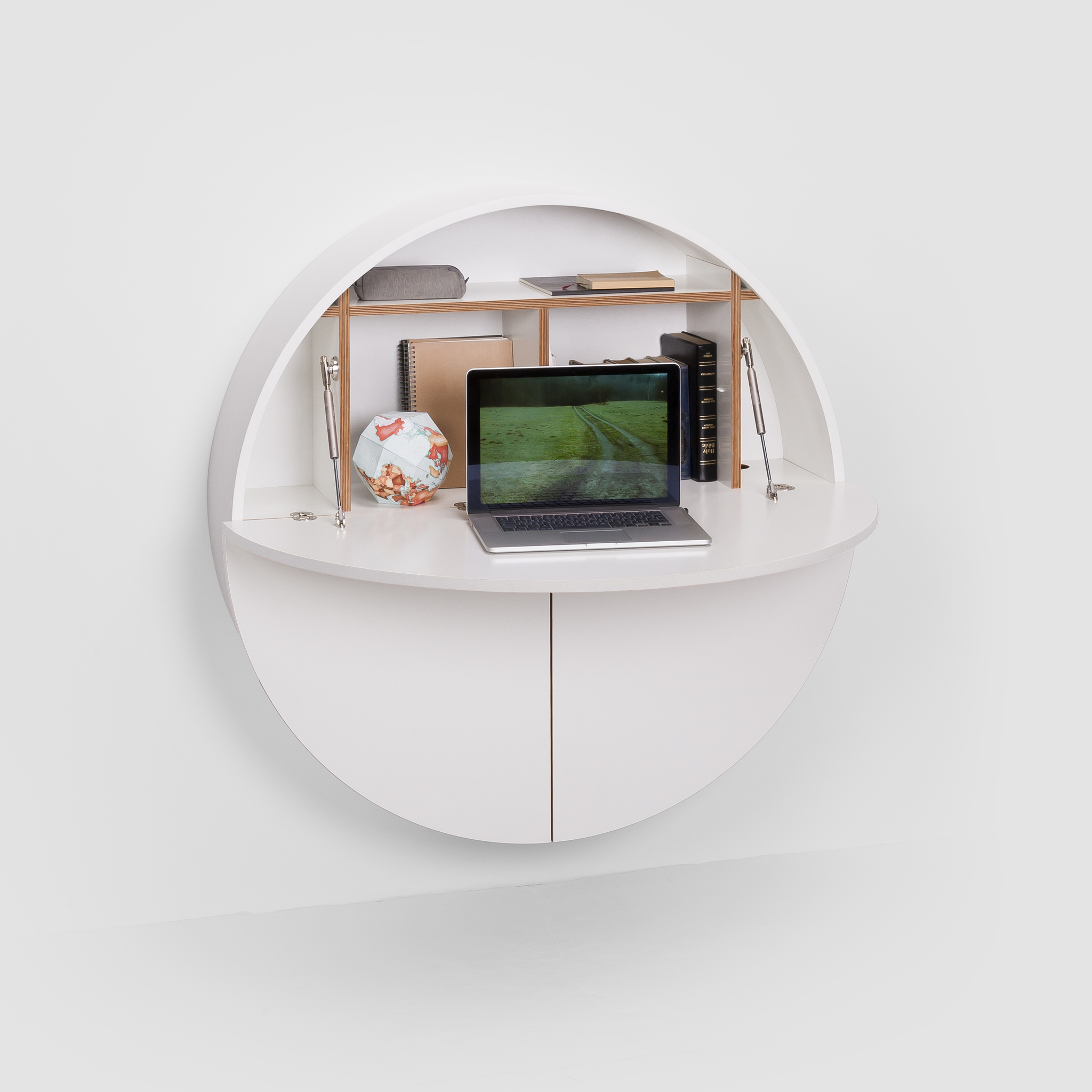 Moderner sekret r m bel von emko - Mobili computer a scomparsa ...