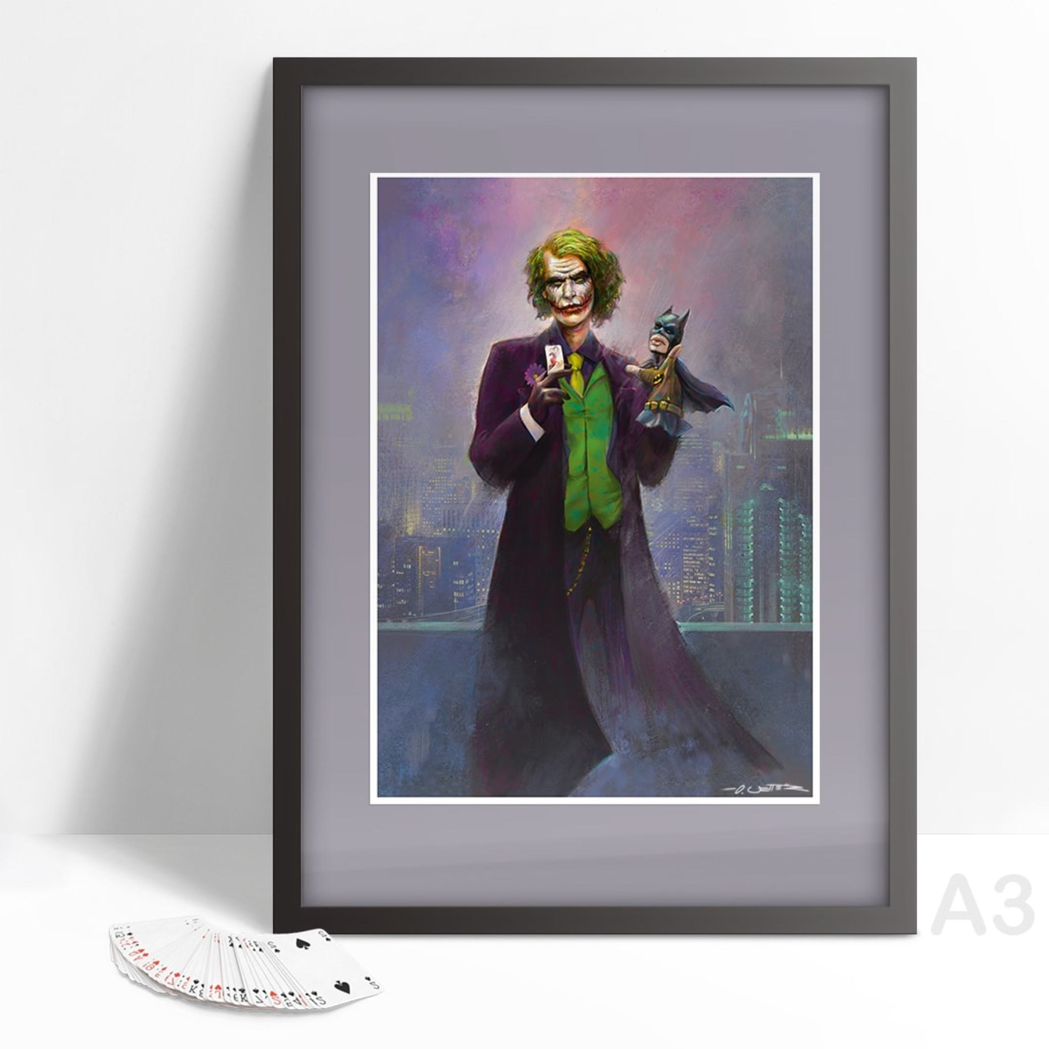Joker Vs. Batman A3 Print