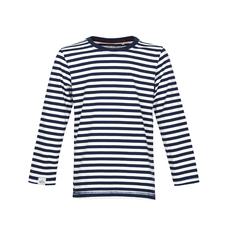 Stripe Longsleeve (navy - off white)
