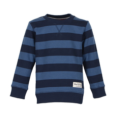 Stripe Sweat (navy - shadow blue)